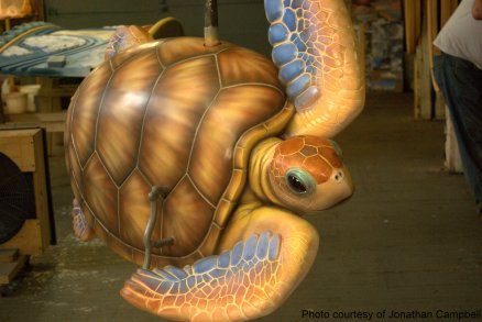 Turtle for Greenway Carousel in Boston
