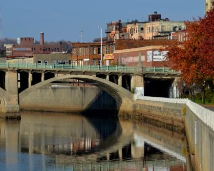Ralph T. Basieliere Bridge sometimes referred to as the Bradford Bridge at Washington St
