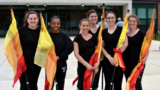 DSC_0203 Haverhill blog Color guard final HHS