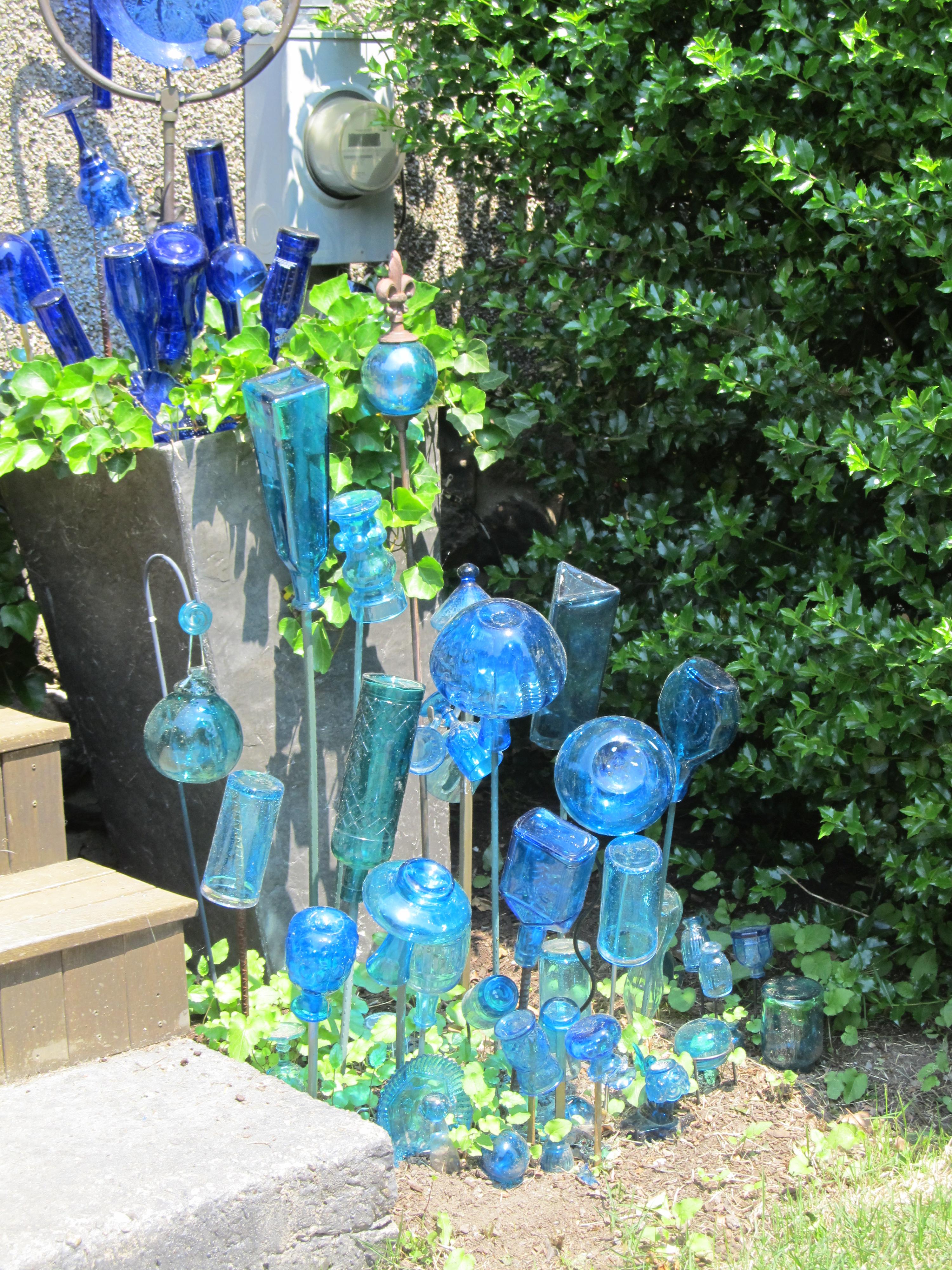 bradford house torquoise bottle tree section