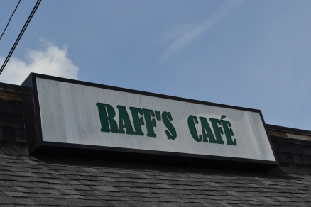 Raff's Cafe - Don't judge a restaurant by its sign. The food is far more inventive and the place bright