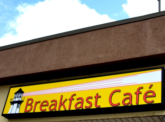 Breakfast Cafe Sign