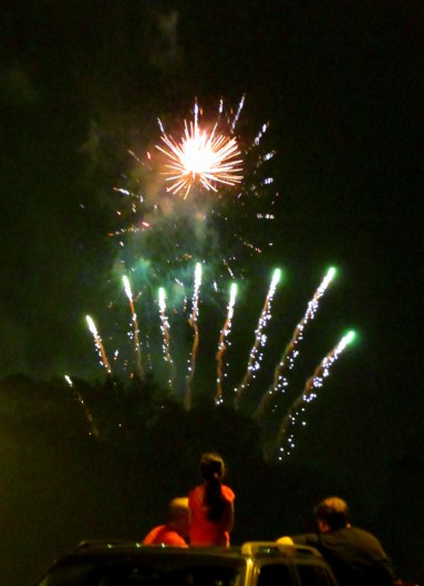 Haverhill Fireworks July 3, 2013