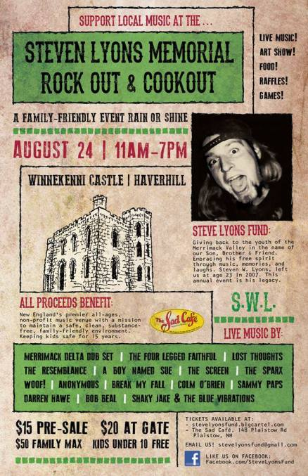 2013 2nd Annual Steven Lyons Memorial Rock Out Cookout