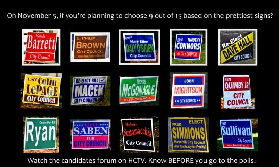 Haverhill Election 2013 City Council with caption