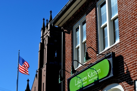 Look for the new Lakeview Kitchen gourmet store and cafe in downtown Bradford