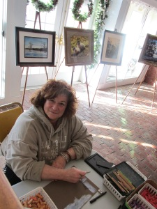 Artist Susan Kneeland works on a commissioned pastel and shares art and life commentary.