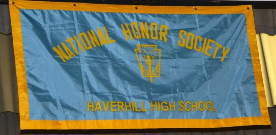 DSC_0839 Haverhill HS National Honor Society