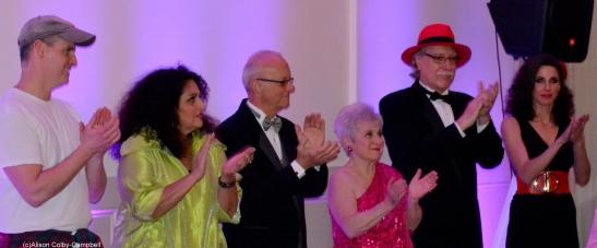 Dancing Contestants L-R: Tom Jordan, Marsha Kazarosian, Peter Carbone, Elaine Barker, Charlie Tontar, Diana DiZoglio