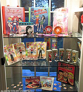 Nancy Silberkleit's nationally-touring, personal collection of vintage Archie memorabilia