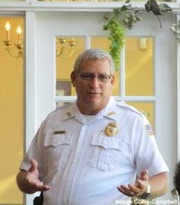 HPD representative Lt Barbiere