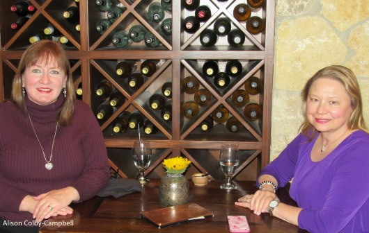IMG_2599 Alison and Betty at Tuscan Kitchen