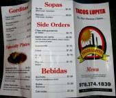 IMG_5052 Tacos Lupita Menu front