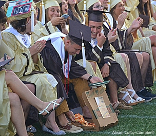 DSC_0008 Haverhill High School Graduation 2016 Pizza
