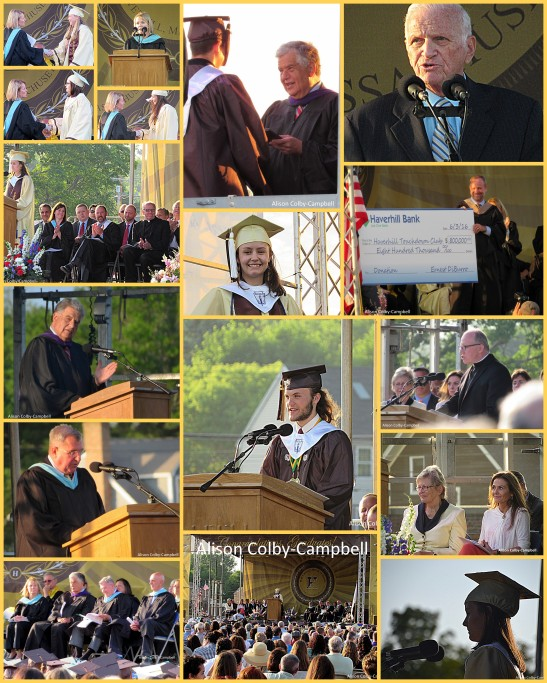 HHS GRADUATION 2016 ON THE STAGE COLLAGE
