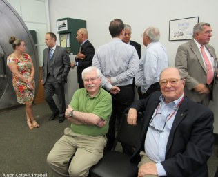 Haverhill's favorite FB historians - Mr Jack Lynch and Mr Arthur Veasey