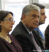 Mayor Fiorentini and his son Jay