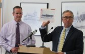 Tim Jordan and Ron Trombley from the Greater Haverhill Foundation discuss how the historically the harbor is part of Harbor Place