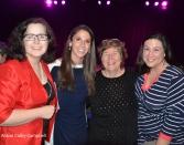 Melinda Barrett, Diana DiZoglio, Sally Cerasuolo O'Rorke and friend