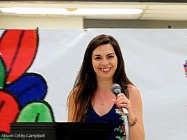 HCC's Sasha Spielman Event committee