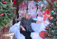 Proprietor Christine MacMillan in the Photo Opp vignette