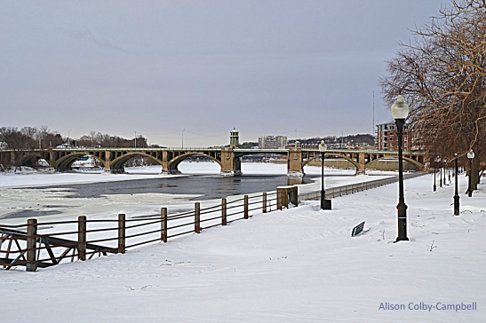 DSC_3284 Haverhill Snow 2018 Merrimack River Downtown
