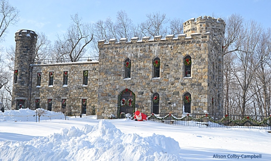 DSC_3422 Haverhill Snow 2018 Winnekenni Castle