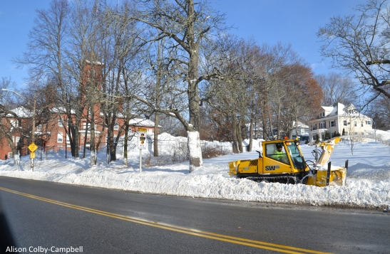 DSC_3441 Haverhill Snow 2018 plowing sidewalks near Walnut Sq School