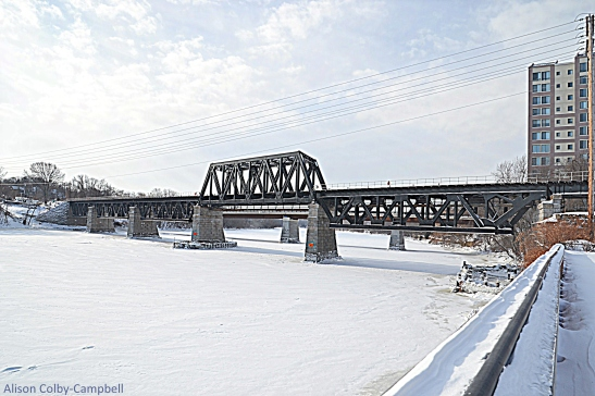 DSC_3480 Haverhill Snow 2018 Comeau Bridge